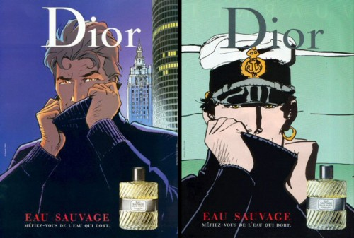 Eau Sauvage largo winch corto maltese.jpg